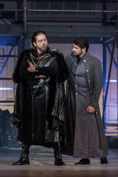 Enrico és Raimondo: Kálmándi Mihály és Kovács István (fotó: Magyar Állami Operaház)