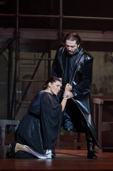 Lucia és Enrico: Miklósa Erika és Kálmándi Mihály (fotó: Magyar Állami Operaház)