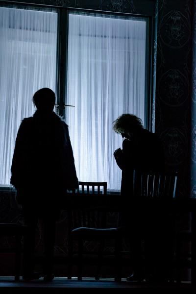 A ravatallal szemben: Ducza Nóra és Szalontay Tünde (fotó: Vermes Tibor)