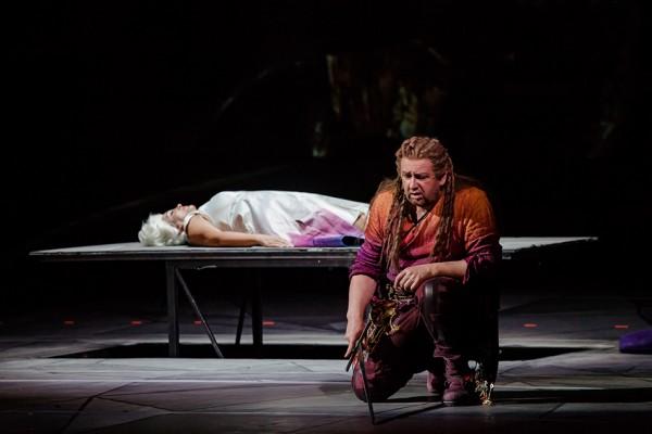 Brünnhilde és Siegfried: Sümegi Eszter és Kovácsházi István (fotó: Vermes Tibor)
