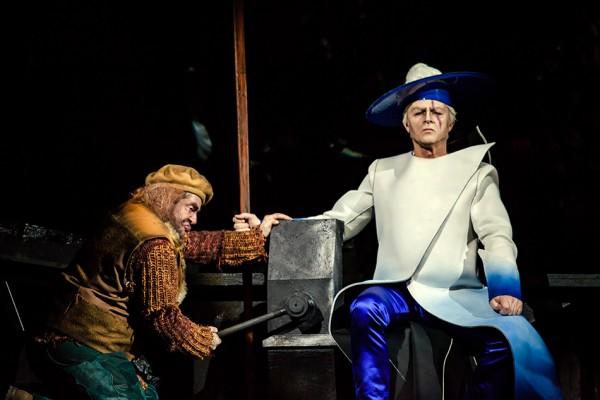 Mime és Wotan: Jürgen Sacher és Egils Silins (fotó: Vermes Tibor)