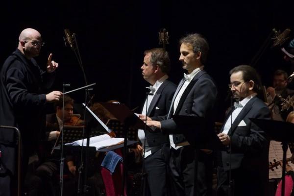 Kocsár Balázs, Palerdi András, Geiger Lajos és Kelemen Zoltán (fotó: Magyar Állami Operaház)