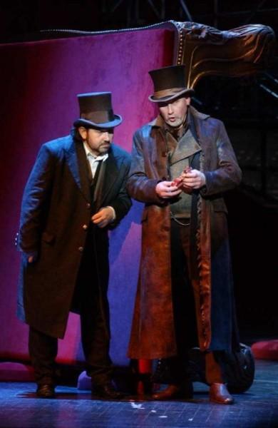 Rigoletto és Sparafucile: Kelemen Zoltán és Altorjay Tamás