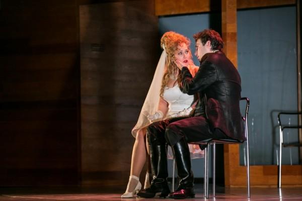 Zerlina és Don Giovanni: Molnár Ágnes és Haja Zsolt (fotó: Nagy Attila)
