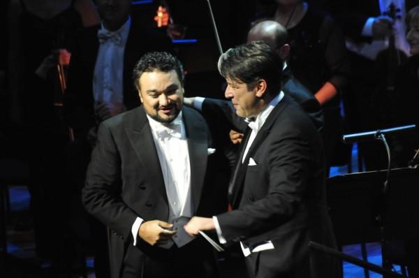 Ramón Vargas és Srboljub Dinić (fotó: Művészetek Palotája)