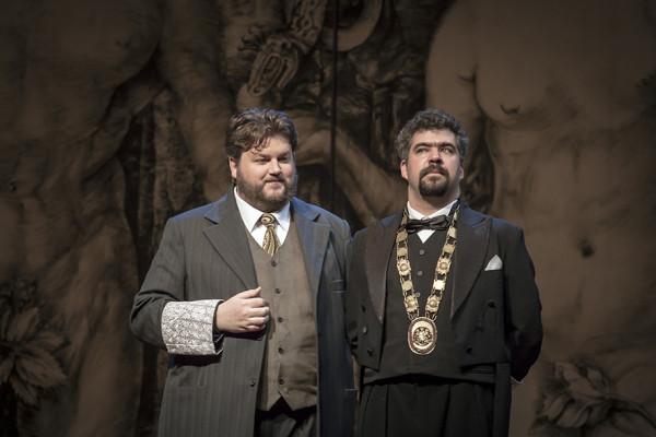 Sachs és Kothner: James Rutherford és Sebestyén Miklós (fotó: Vermes Tibor)