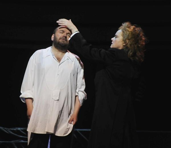 Kundry és Parsifal: Petra Lang és Christian Franz