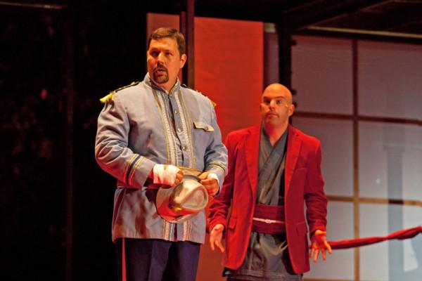 Yamadori és Goro: Rezsnyák Róbert és Megyesi Zoltán (fotó: Kaiser Ottó)