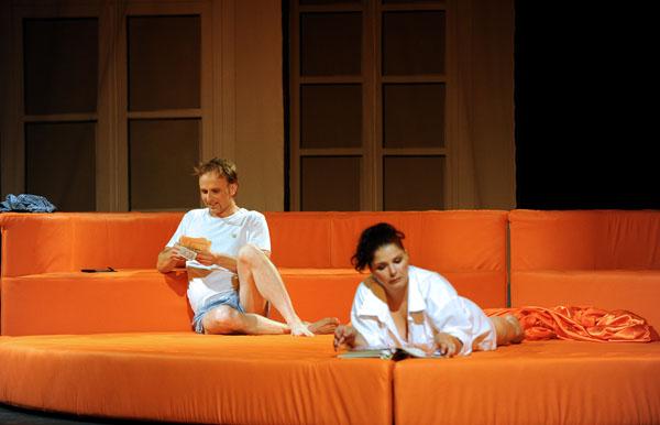 Susanna és Figaro: Herczenik Anna és Hámori Szabolcs (fotó: Szkárossy Zsuzsa)