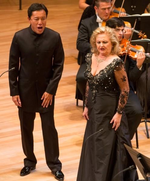 Edita Gruberová és Philippe Do (fotó: Posztós János)