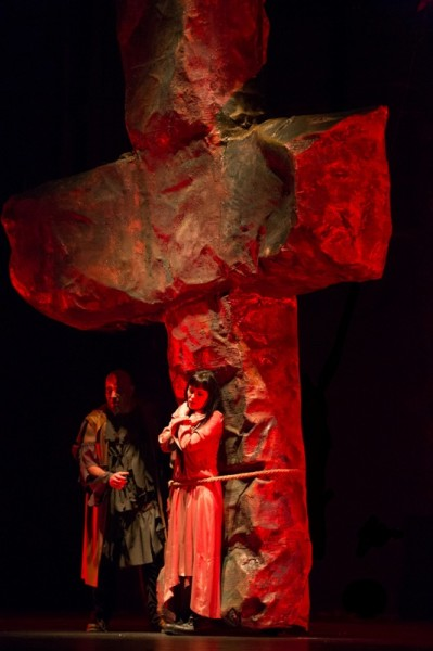 Johanna és Giacomo: Covacinschi Yolanda és Balla Sándor (fotó: Herman Péter)