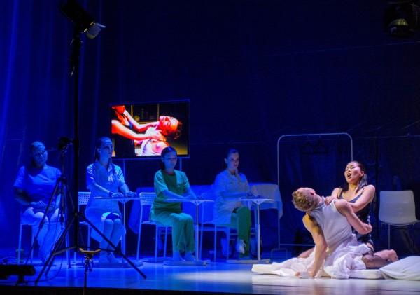 The Don Juan Project: jelenet az előadásból (fotó: Felvégi Andrea / Zeneakadémia)