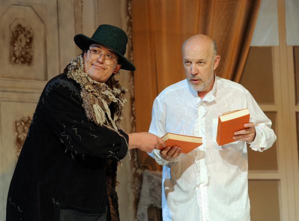 A csengő: Egyházi Géza és Ürmössy Imre (fotó: Szkárossy Zsuzsa / Budapesti Nyári Fesztivál)