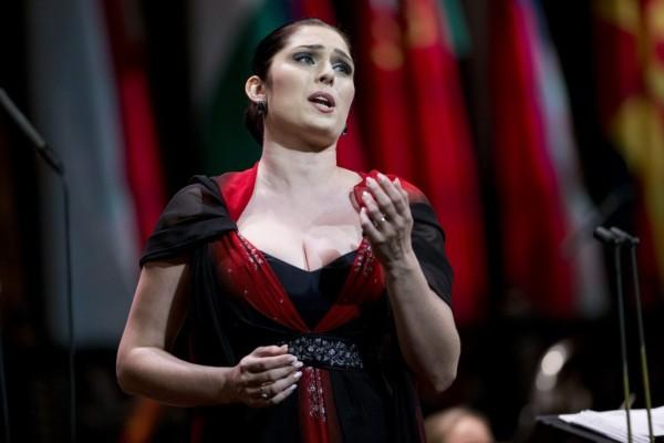 III. helyezett: Marcelina Beucher (fotó: Tuba Zoltán / Zeneakadémia)