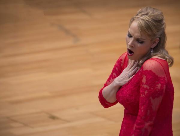 Elīna Garanča (fotó: Posztós János / Művészetek Palotája)