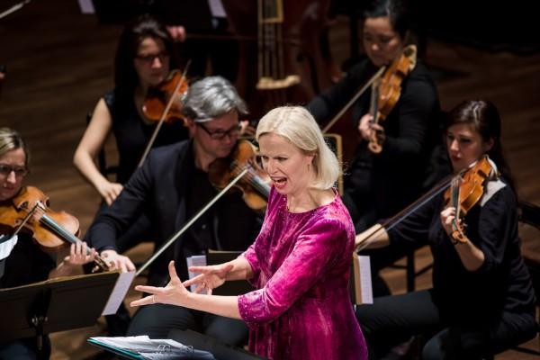 Anne Sofie von Otter és a Les Musiciens du Louvre (fotó: Mudra László / Zeneakadémia)