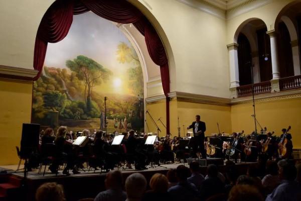 Vajda Gergely és a MÁV Szimfonikusok (fotó: Vajda Tamás / Zsidó Művészeti Napok)