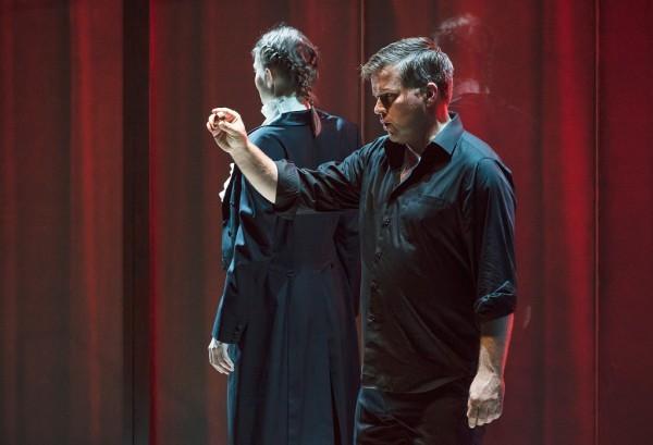 Az erdei madár és Siegfried: Celeng Mária és Daniel Brenna (fotó: Posztós János / Müpa)