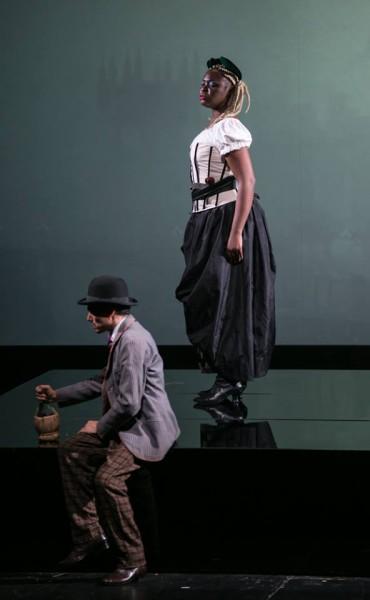 Adriana Bignani-Lesca és Gian Luca Pasolini (fotó: Armel)