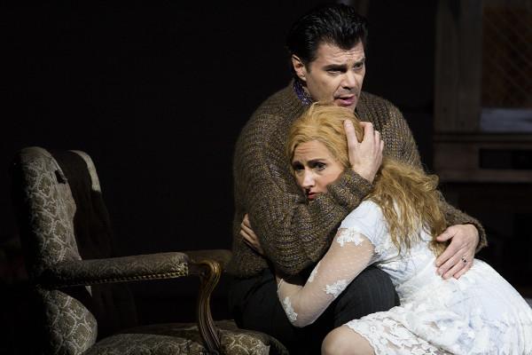 Miranda és Prospero: Szántó Andrea és Franco Pomponi (fotó: Mányó Ádám)