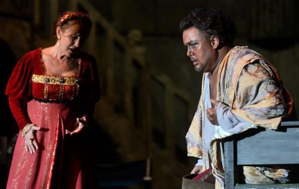 Desdemona és Otello: Rost Andrea és Marc Heller (fotó: Éder Vera)