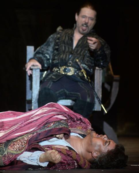 Jago és Otello: Kálmándi Mihály és Marc Heller (fotó: Éder Vera)