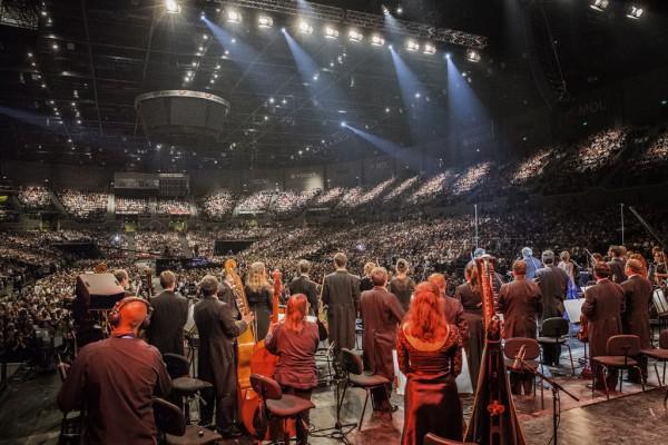 Az Aréna közönsége (fotó: Pályi Zsófia / Müpa)