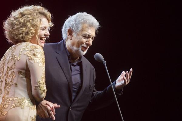 Pasztircsák Polina és Plácido Domingo (fotó: Pályi Zsófia / Müpa)
