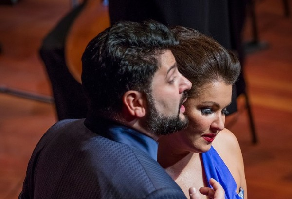 Anna Netrebko és Yusif Eyvazov Budapesten (fotó: Posztós János / Müpa)