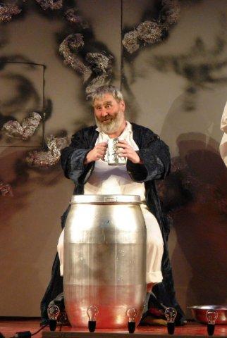 Falstaff: Hercz Péter (fotó: Kolozsvári Magyar Opera)