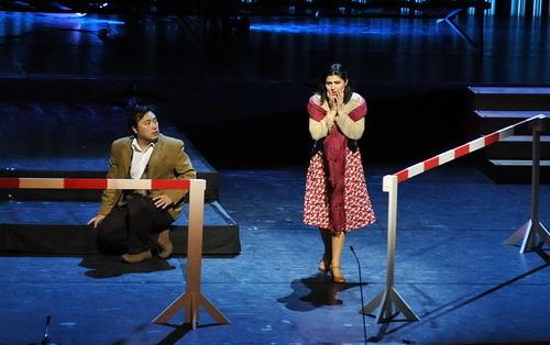 Szvetla Vasziljeva és Alfred Kim (Fotó: Csibi Szilvia)
