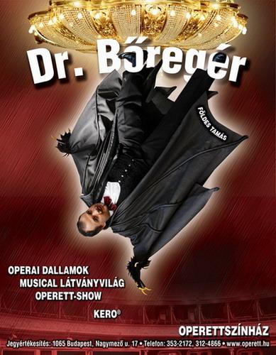 Dr. Bőregér - plakát