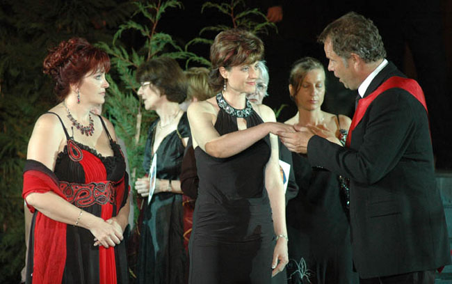 Sümegi Eszter, Fáklya Erzsébet és Palerdi András