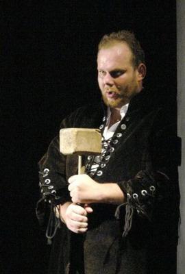 Sándor Árpád a kolozsvári Sarolta-előadásban