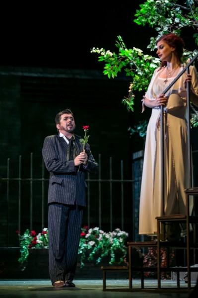 Gilda és a herceg: Kovács Éva és László Boldizsár (fotó: Csibi Szilvia)