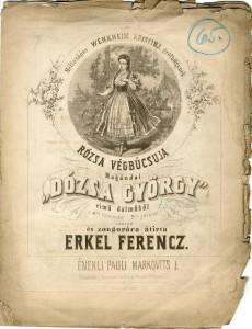 Erkel: Dózsa György