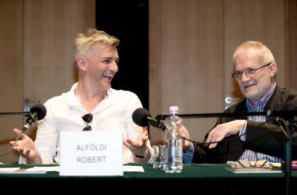 Alföldi Róbert és Eötvös Péter (fotó: Armel Operafesztivál)
