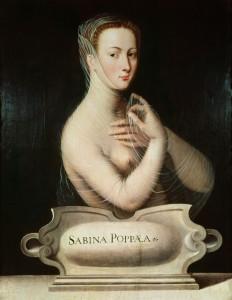 Poppea 16 századi ábrázolása
