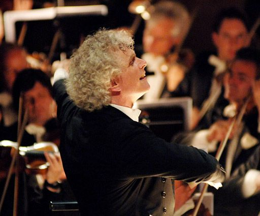 Sir Simon Rattle (fotó: Monika Rittershaus)
