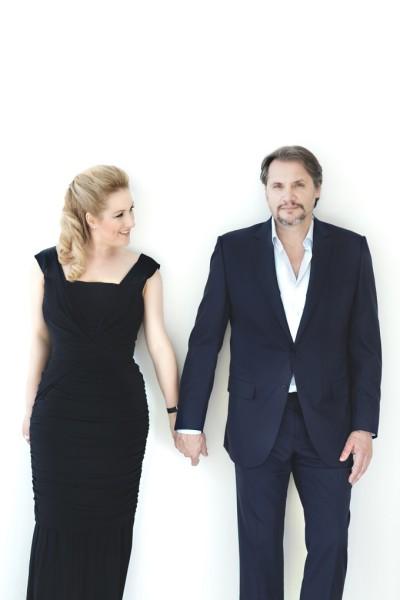 Diana Damrau és Nicolas Testé (fotó: Rebecca Fay)