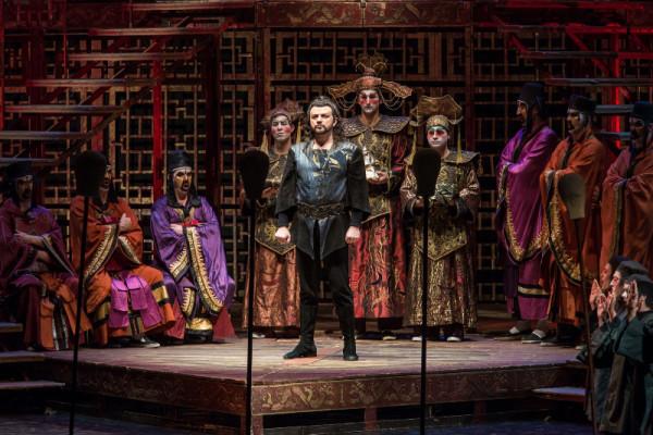 Kiss B. Attila a Magyar Állami Operaház Turandot-előadásában (fotó: Nagy Attila / Magyar Állami Operaház)