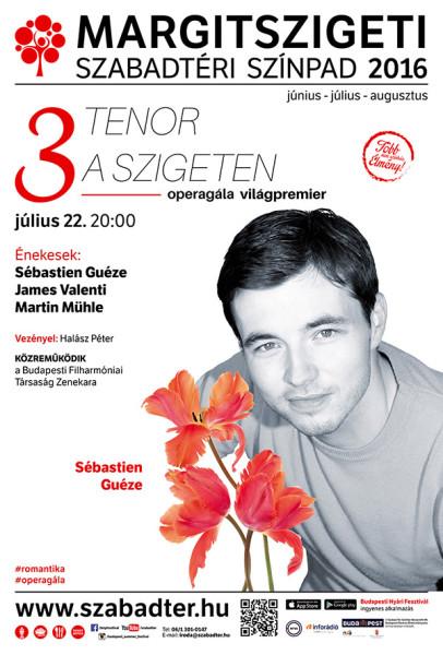 A koncert plakátja