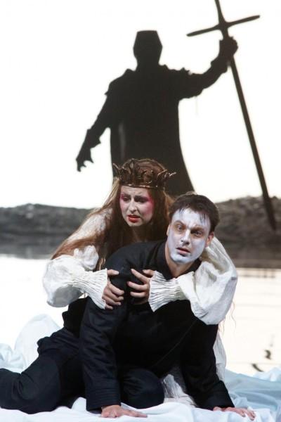 Jelenet az előadásból (fotó: Bregenzer Festspiele)