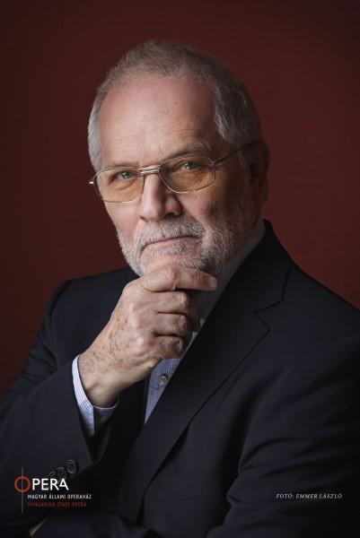 Eötvös Péter (fotó: Emmer László / Magyar Állami Operaház)