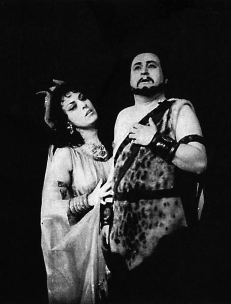 Sámson és Delila - Jablonkay Évával
