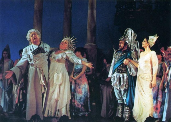 Orfeusz az alvilágban - partnerek: László Margit, Pánczél Éva, Gyapjas Tibor