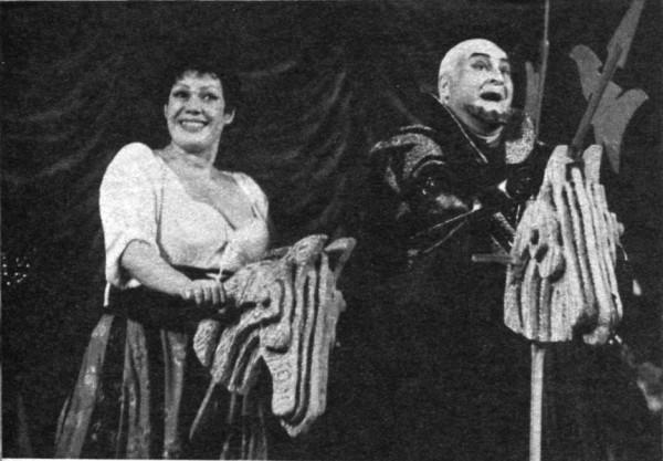 A Kékszakállban Sudlik Máriával