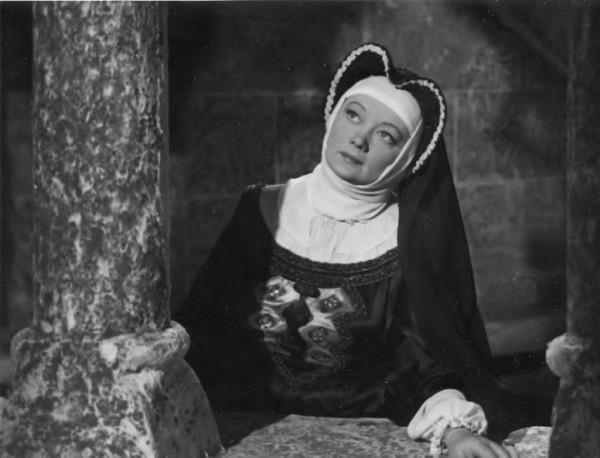 Szilágyi Erzsébetként az Erkel-filmben