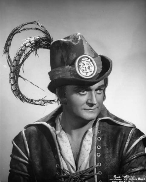 Kónya Sándor mint A bűvös vadász Maxa a Metropolitanben (fotó: Louis Mélançon)