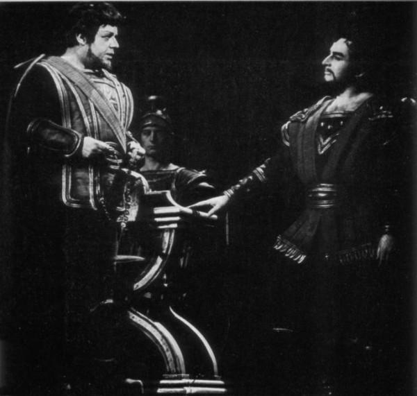Sólyom-Nagy Sándorral a Rodelindában